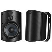 Polk Audio Atrium 4 - Par de caixas acústicas outdoor All Weather 100w - Preto