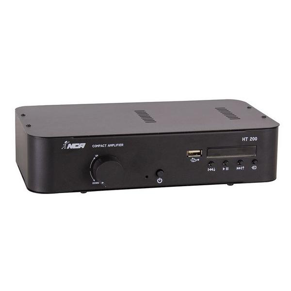 Amplificador Compacto Ambiente Ht 200 Nca Ll Audio Bt Fm Usb