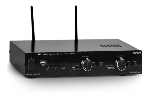 Amplificador Frahm Residence RD 240 WiFi G2 - 2 Canais Stereo