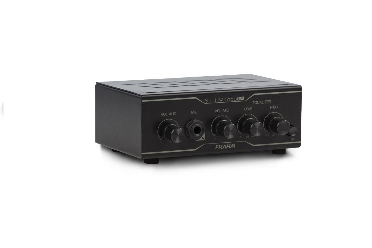 Amplificador Frahm Slim 1000 LA - Até 12 Caixas