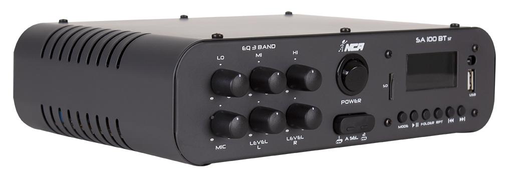 Amplificador De Áudio Nca Sa100btst Estéreo 60 Watts Rms Bt
