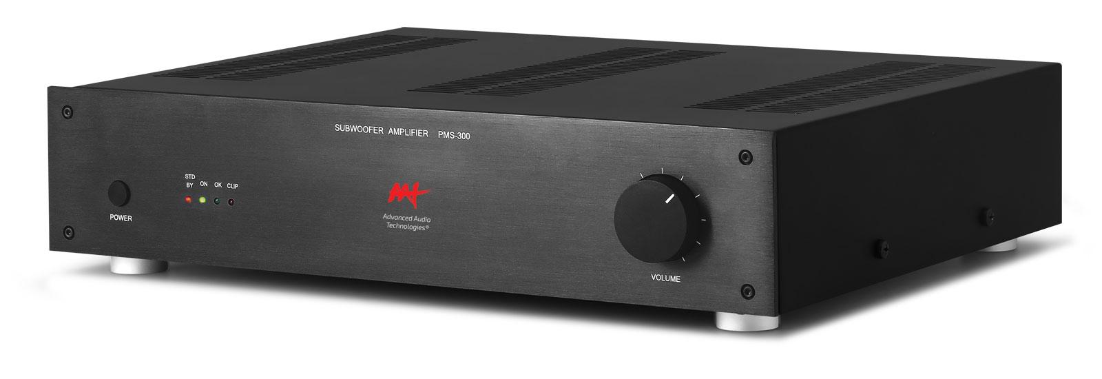 Amplificador Para Subwoofer Passivo Aat Pms300 600w Bivolt