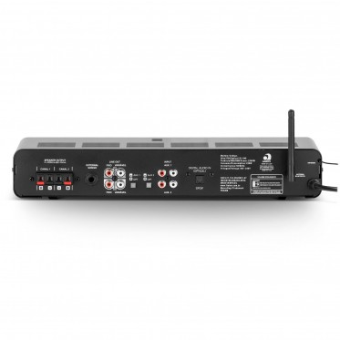 Amplificador Slim 2700 Optical G3 BT/FM/USB/SDCard/RCA Frahm