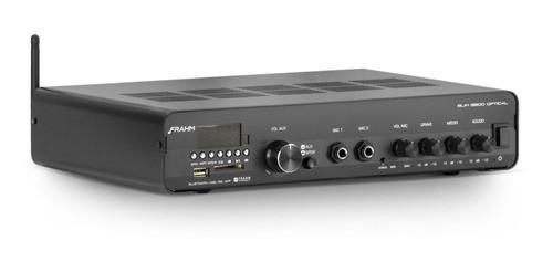 Amplificador Som Ambiente Frahm Slim 3200 Optical
