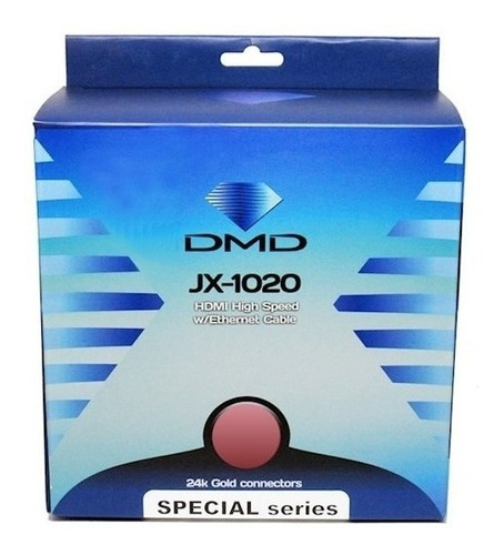 CABO DIAMOND GOLD DMD JX-1020 HDMI -10M HIGH SPEED