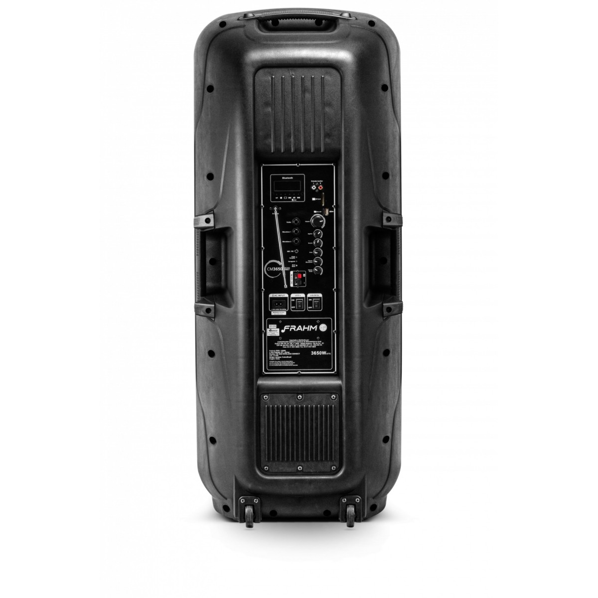Caixa Amplificada Frahm Weireless Connect CM 3650 Multiuso USB, SD, Bluetooth Preto