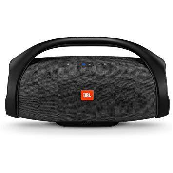 Caixa de som Bluetooth JBL BoomBox 60w RMS, 24hrs de bateria, à prova d'água IPX7 - Preto