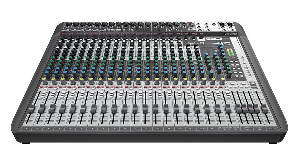 Console Mesa de Som Soundcraft Signature 22 MTK Mix 110V/240V