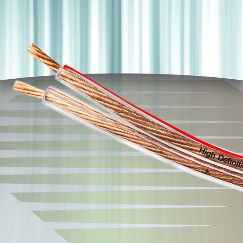Diamond Cable DMD HP-SP150 - Cabo para caixas acústicas 2 x 1,50mm2 14 AWG (50 metros) - Cristal