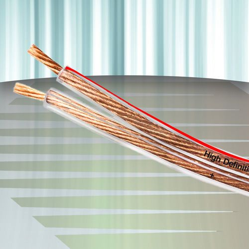 Diamond Cable DMD HP-SP250 - Cabo para caixas acústicas 2 x 2,50mm2 10 AWG (100 metros) - Cristal