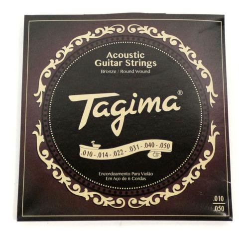 ENCORDOAMENTO TAGIMA GUITARRA .010 .050 # 636