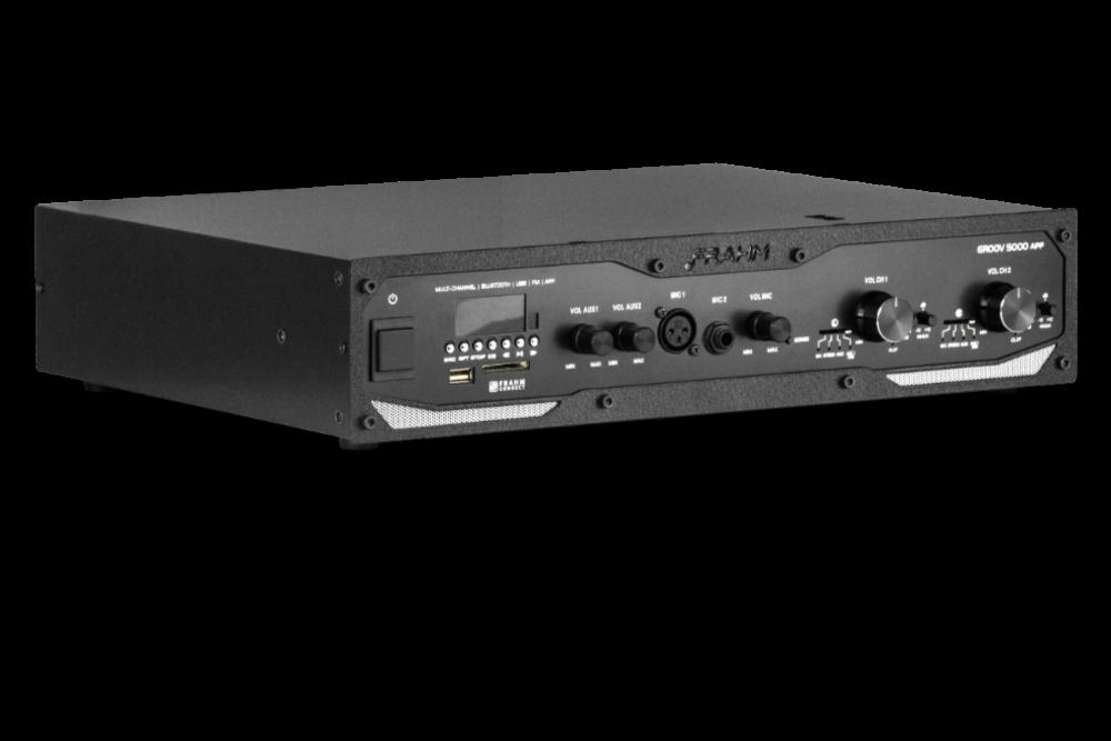 Amplificador De Som Profissional Frahm Groov Gr5000 App 600w