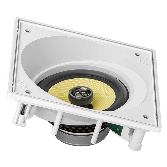 JBL CI6SA - Caixa acústica de embutir angulada - Branco  (UN)