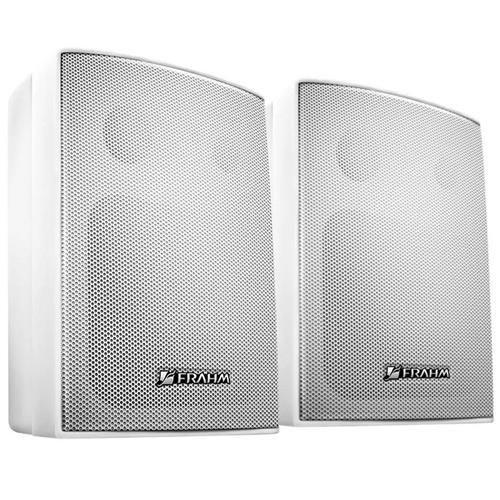 Kit Frahm Sonorização Som Ambiente - Amplifcador + 4 Caixas