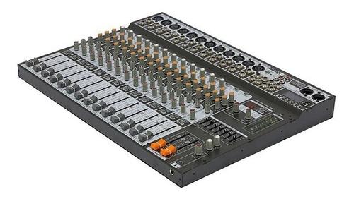 Console Soundcraft SX1602FX USB Mesa de mistura 16 canais