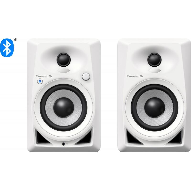 MONITOR DE REFERENCIA PIONEER DJ DM-40BT WHITE - 110V