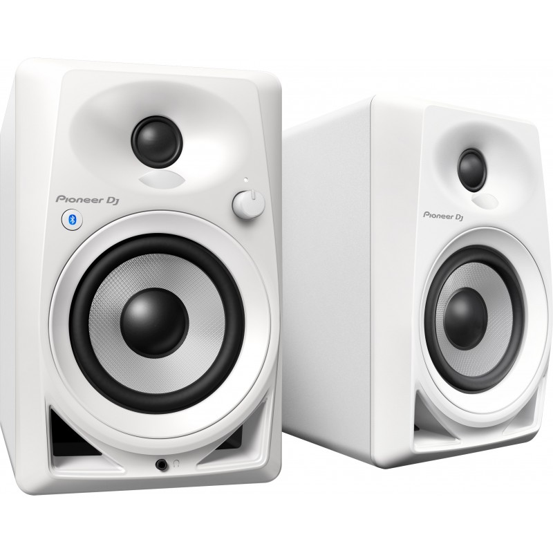 MONITOR DE REFERENCIA PIONEER DJ DM-40BT WHITE - 110V