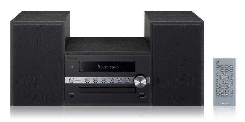 Pioneer X-CM56 Micro System  CD Bluetooth NFC USB MP3 AM/FM Preto - 110V