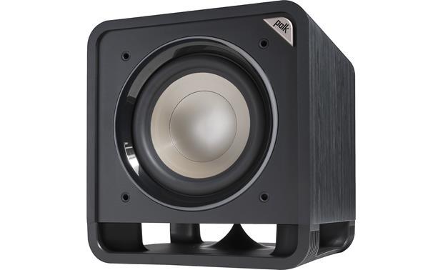 """Polk Audio HTS 10 - Subwoofer ativo de 10"""" com 200 watts Class D - Preto"""