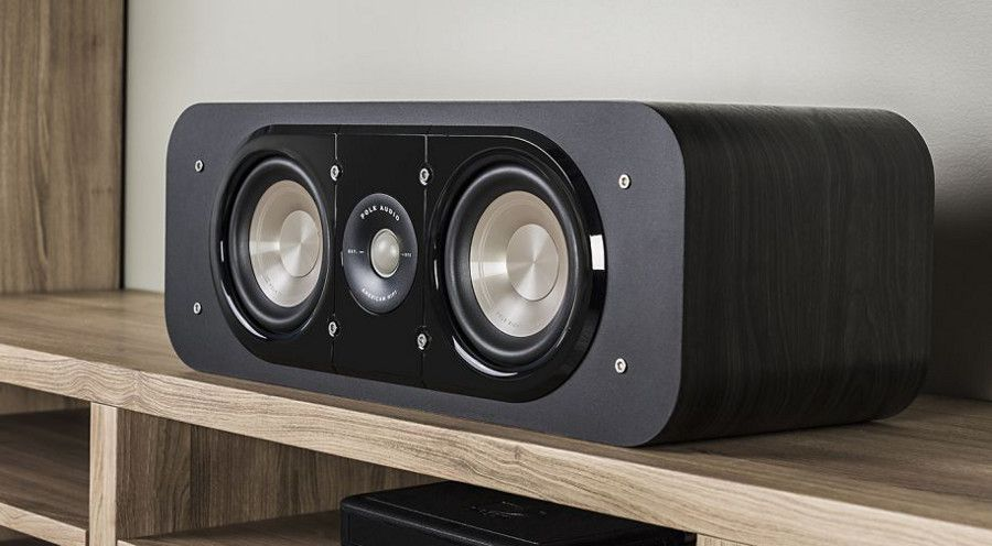 Polk Audio Signature S30 - Caixa acústica Central 125w 8 Ohms - Preto