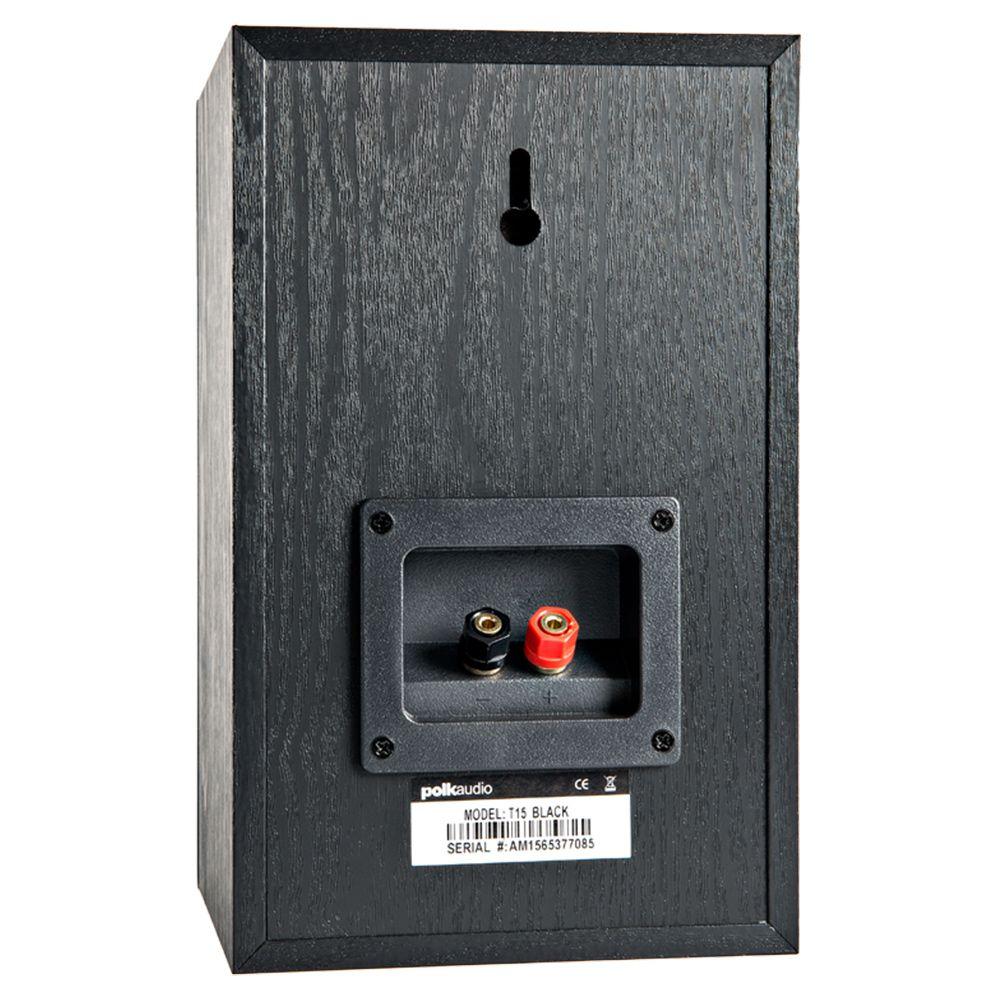 Polk Audio T15 - Par de caixas acústicas Bookshelf - 100w 2-vias
