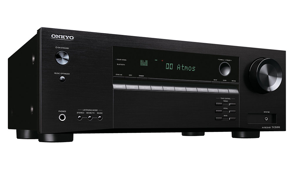 Receiver ONKYO TX-SR494 - 7.2 - 4K - Dolby Atmos Zona B