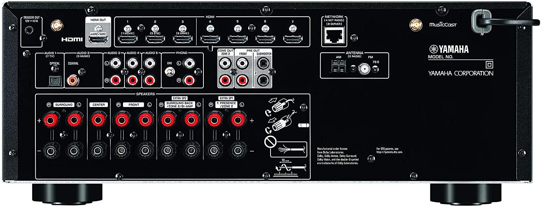 Yamaha Rx-v6a Receiver D. Atmos 8k 7.2 110v Pronta Entrega
