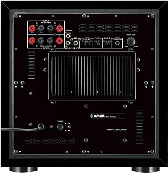 Subwoofer 10 Polegadas Yamaha Ns-sw300 Piano Black