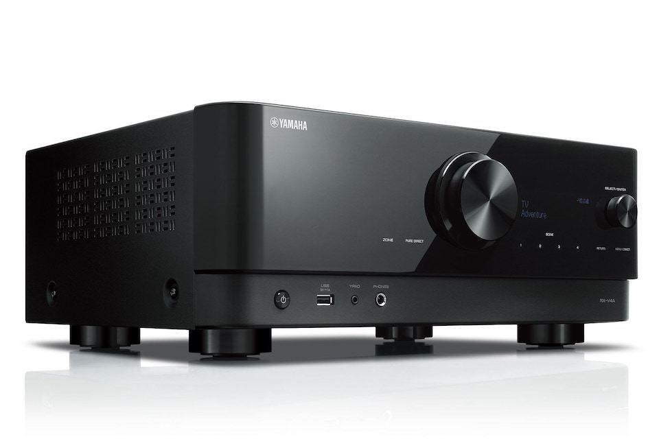 Yamaha Rx-v4a 80w Receiver Dolby Vision 5.2 Canais 8k - 110v