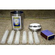 Kit Apagão - Enfeita e Ajuda (com 6 velas, suporte, tampa-castiçal e fósforos)