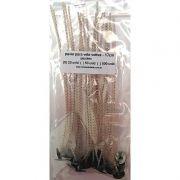 Pavios para velas votivas - 17cm - pacotes até 500 unid