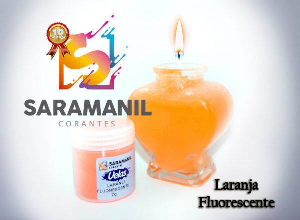 Corantes (anilina a óleo) para velas pó 7g - fluorescentes