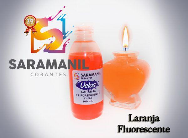 Corantes Líquidos (anilina a óleo) para velas - 100ml - fluorescentes