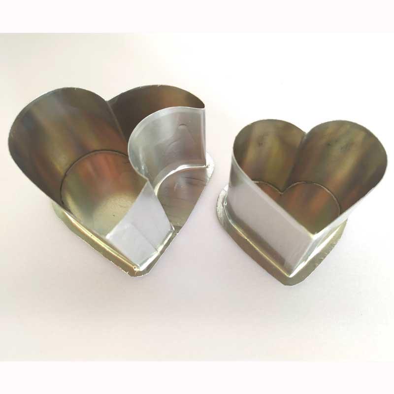 Formas de flandres Coração Duplo (2 formas)