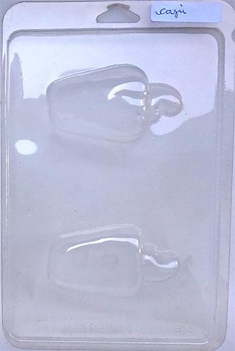 Formas de PVC - diversos modelos A-F