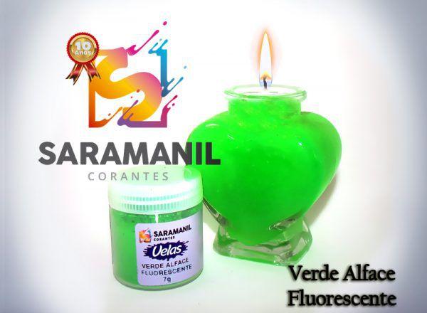Kit corante base a óleo (anilina) cores fluorescentes P