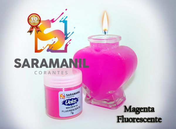 Kit corante base a óleo (anilina) cores fluorescentes S