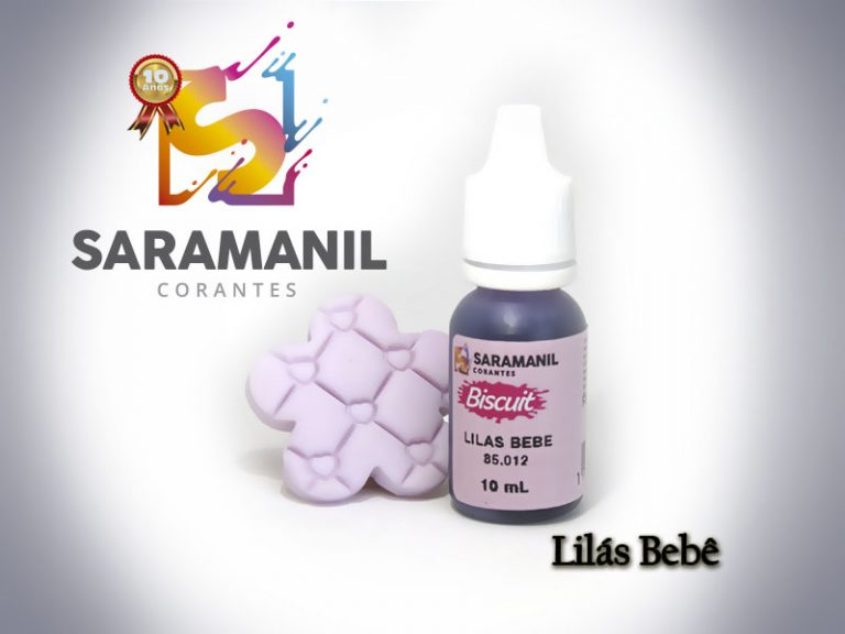 Kit Corante biscuit 10ml - 5 cores