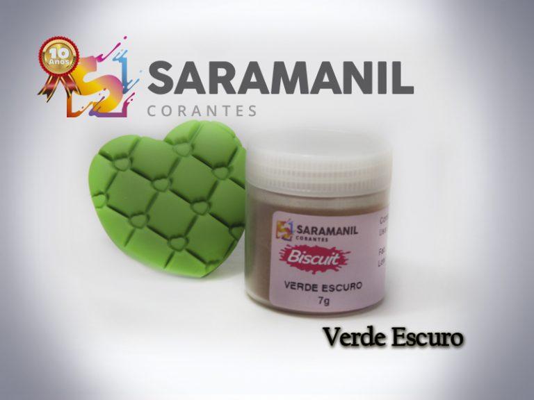 Kit Corante biscuit 7g - 6 cores