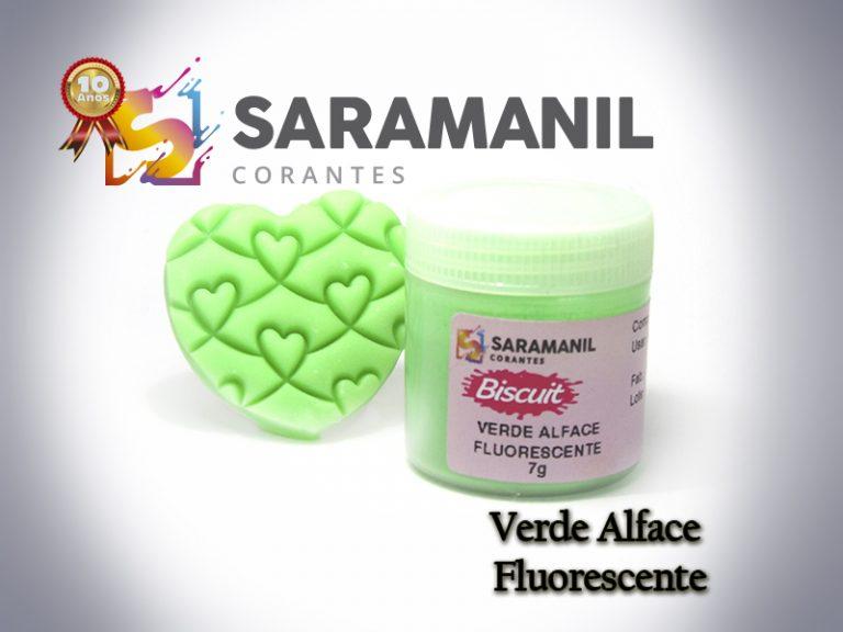 Kit Corante biscuit 7g fluorescente - 7 cores