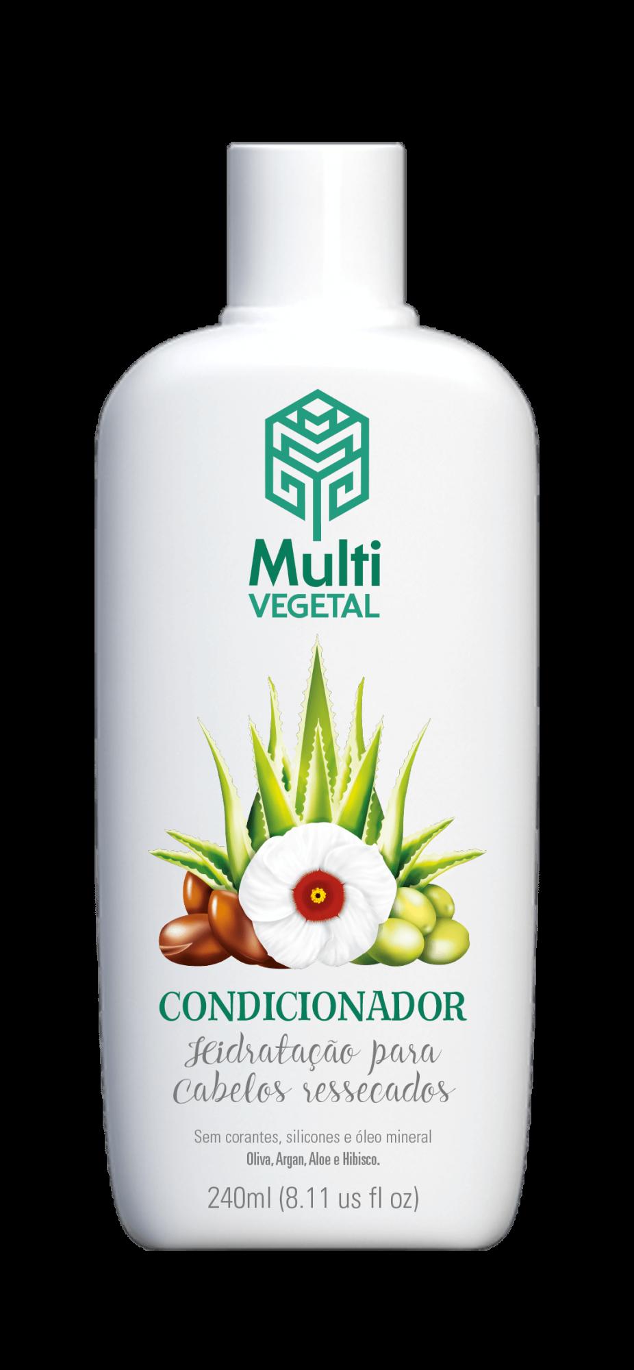 Condicionador de Oliva com Argan Multi Vegetal - 240ml