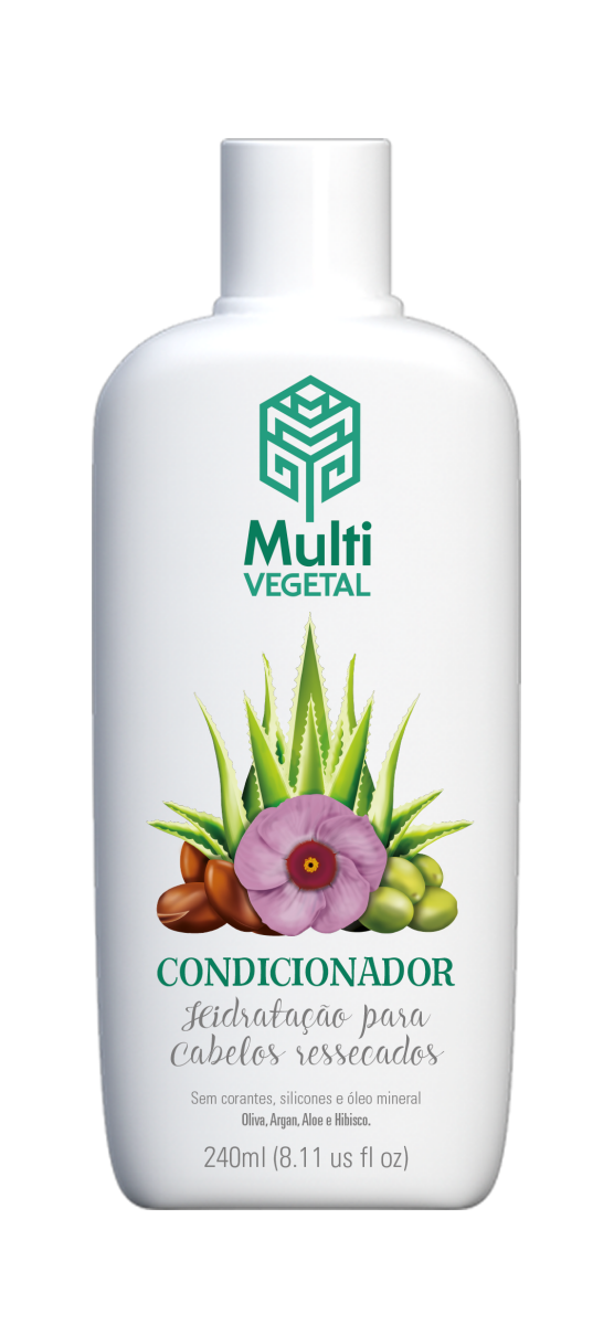 Condicionador de Oliva com Argan Multi Vegetal - 240ml