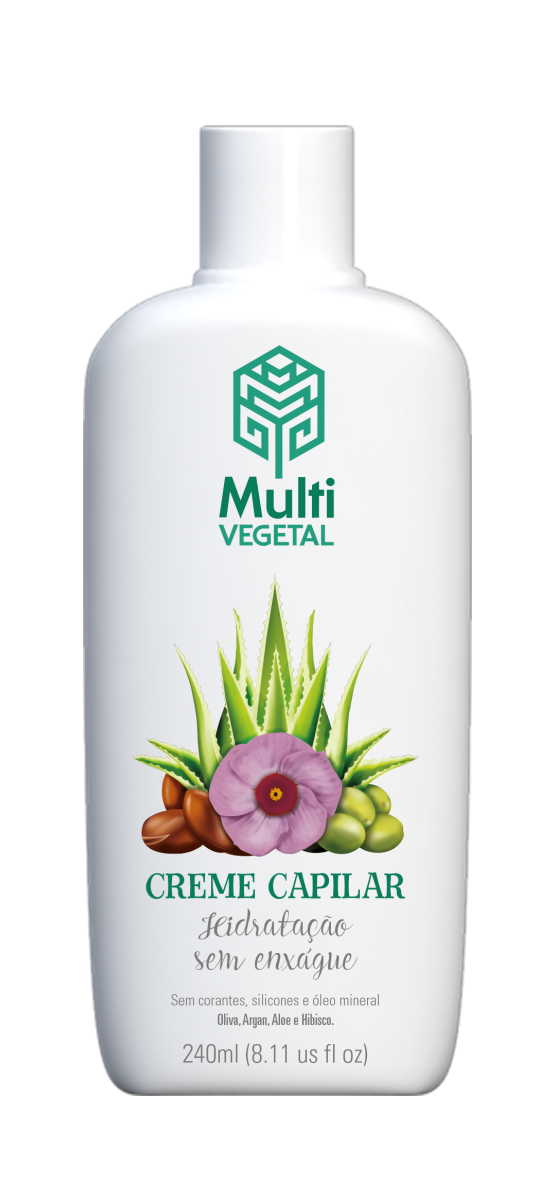 Creme de Oliva com Argan Multi Vegetal 240ml