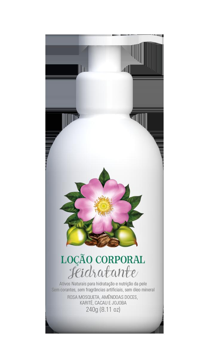 Loção Corporal Hidratante Multi Vegetal 240ml