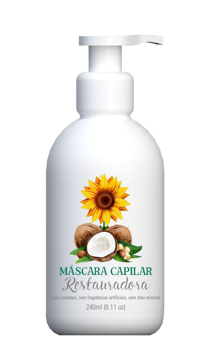 Máscara Capilar Restauradora Multi Vegetal 240ml