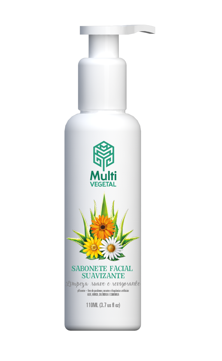 Sabonete Facial Suavizante Multi Vegetal 110ml