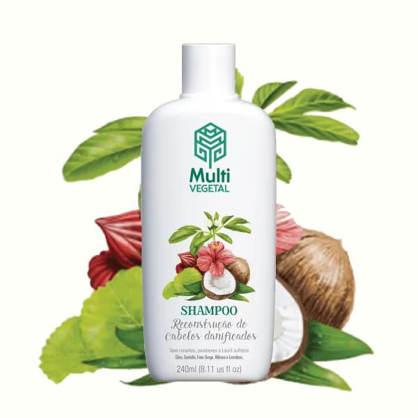 Shampoo de Côco Multi Vegetal 240ml