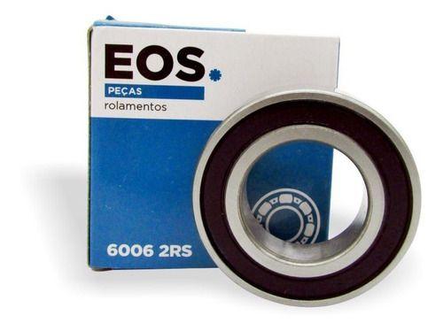 Rolamento 6006-2rs Lavadora 10 Unidades Eos
