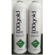 Fluido Refrigerante Dugold R407C Cilindro Lata 600gr