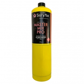 Gas Macarico Master Mix Propano 450gr Suryha  80140.006